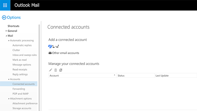 Delete Account Outlook