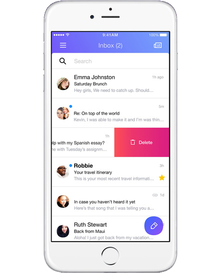 Yahoo Mail iOS